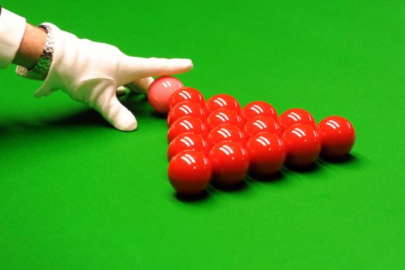 ESPB Snooker Table Close Up Background